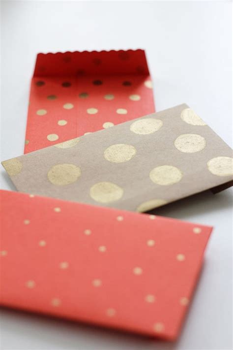 diy envelopes diy envelopes using paper and a gold paint pen diy