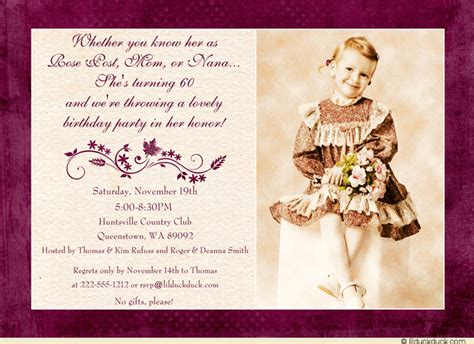 wording for 60th birthday invitations 60th birthday invitation wording ideas cimvitation
