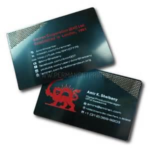 metal business cards toronto metal business cards toronto permanent print