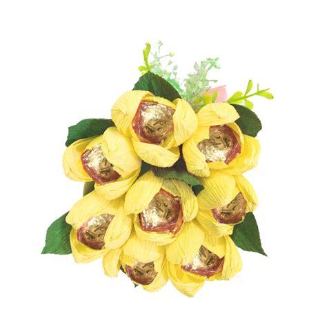 Coklat Tulip buket bunga tulip coklat golden crown 8pc desain elegan