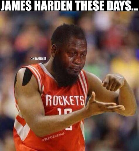 James Harden Memes - james harden right now rockets http nbafunnymeme com