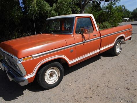 1973 ford f100 explorer 1973 ford f100 a new mexico truck for sale ford f 100