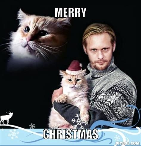 meme monday vampire eric   catin  christmas hat  collective