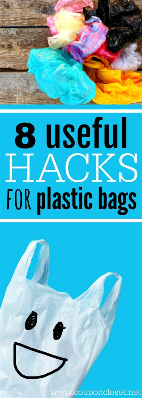 ways  reuse plastic bags  hacks  plastic bags