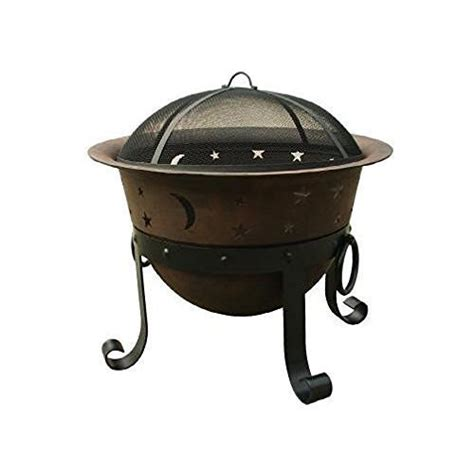Backyard Creations 29 Inch Pit Creations 29 Inch Heavy Duty Cast Iron Celestial
