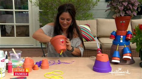 Do It Yourself Decoration by Tanya Memme Diy How To Make Flower Pot People Youtube