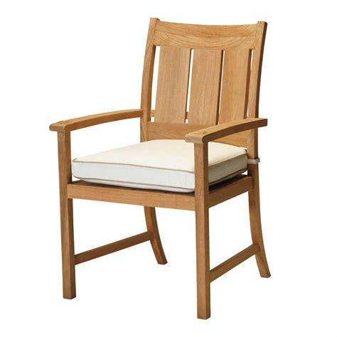 croquet teak arm chair