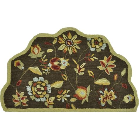 summerton collection rug loloi rugs summerton style collection brown 2 ft 3 in x 3 ft 9 in scalloped hearth area