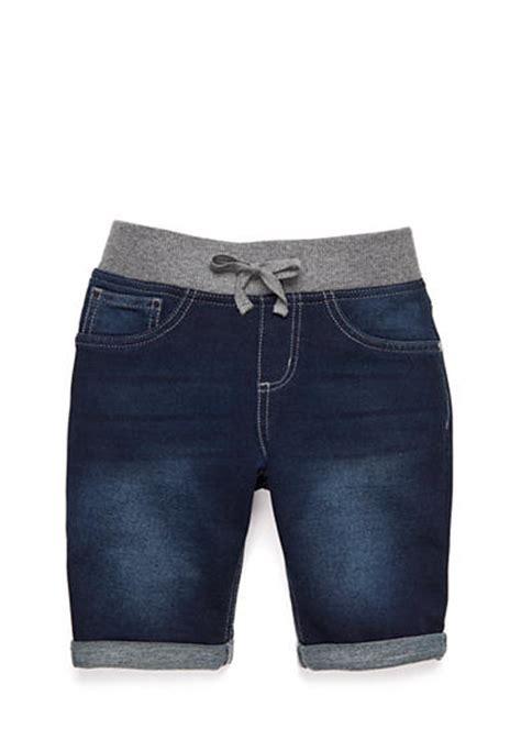 knit waist shorts j khaki knit waist jegging bermuda shorts 7 16 belk