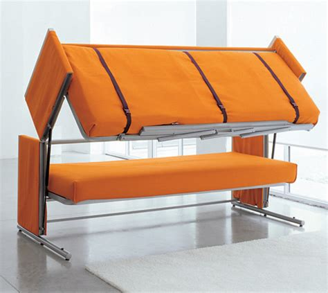 sofa that turns into a bunk bed furniture the tiny life