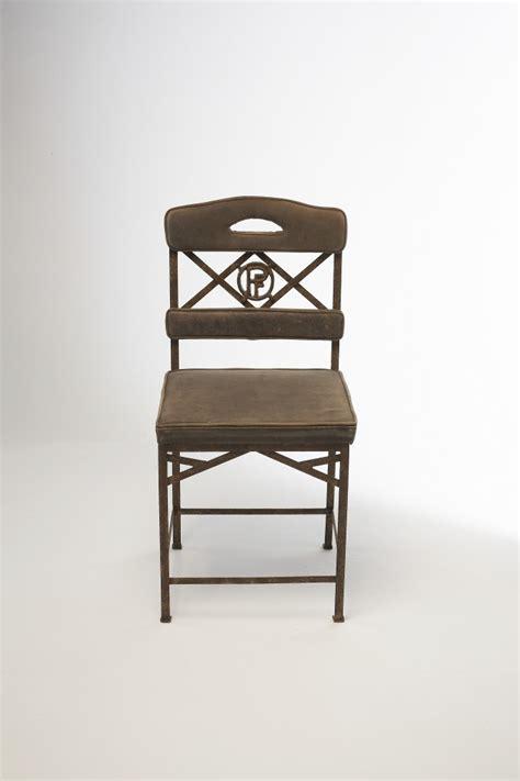 chaise eiffel chaise eiffel gloriette cuir struct m 233 tal patin 233 fa 231 on