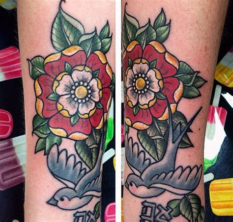 bulldog tattoo edmonton tattoos on pinterest east side tattoo tudor rose