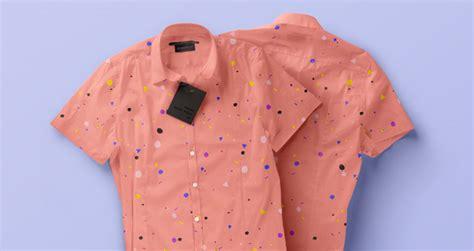 pattern mock up free psd short sleeve dress shirt vol2 psd mock up templates