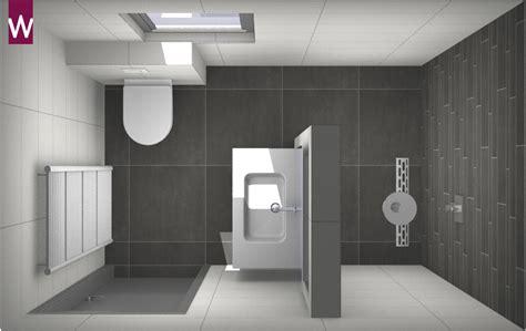 Badkamer Betegelen Voorbeelden by Voorbeeld Een Kleine Badkamer Met Grote Tegels