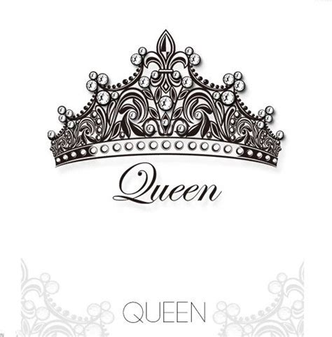 queen hat tattoo queen crown swarovski crystal tattoo stickers for youth