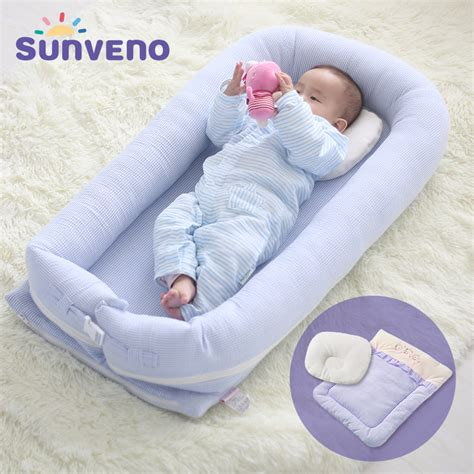 portable infant bed sunveno portable baby bed crib newborn infant bedding