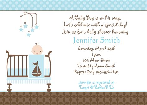 When Do You Normally A Baby Shower by How To Create Baby Boy Shower Invitations Ideas Anouk