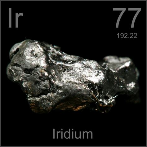 rutenio tavola periodica facts pictures stories about the element iridium in the