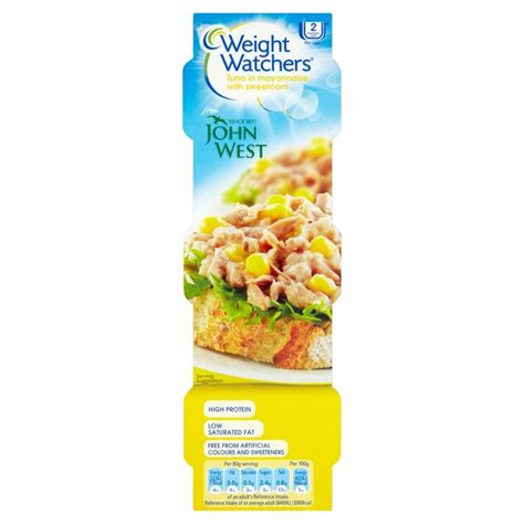 weight watchers 3 manuscripts a 3 in 1 the smartpoints starter guide for rapid weight loss ã including beginners 31 day meal plan the instant pot recipes for rapid loss books weight watchers tuna mayonnaise sweetcorn 3 x 80g from ocado