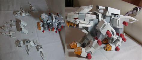 liger zero papercraft 3 by cat on deviantart