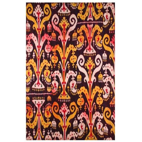 uzbek ikat 19th antique uzbek ikat pinterest antique uzbek silk ikat panel at 1stdibs