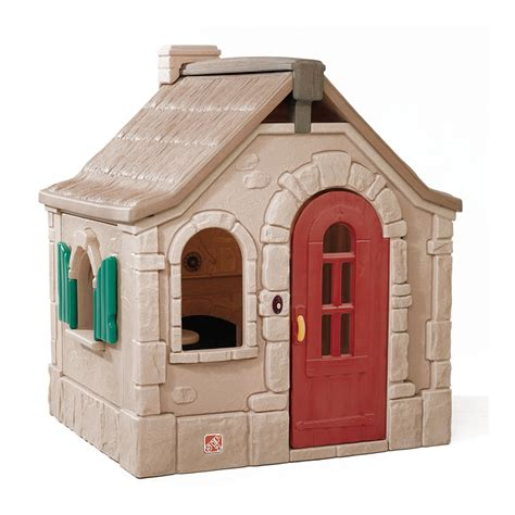 Naturally Playful Storybook Cottage Kids Playhouse Step2 Step2 Storybook Cottage