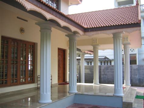 Pillars Decoration In Homes by Vastu Guidelines For Verandah Architecture Ideas