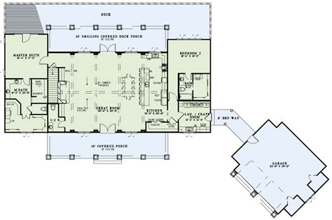house plans with large great rooms rustic ridge collection house plan 1451 chesapeake grove