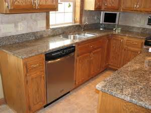 Type Of Kitchen Cabinets Kitchenquartz Countertops With Oak Cabinets Honey Also