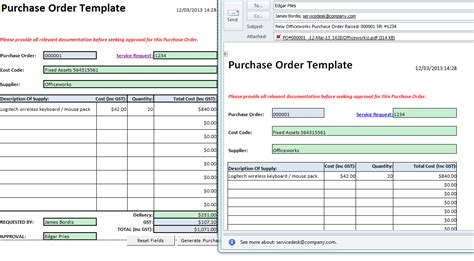 import purchase orders from excel to sage 200