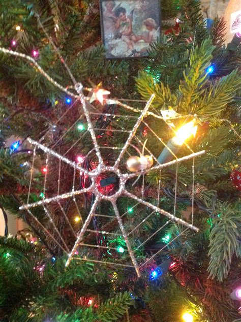 spider web christmas tradition ukrainian legend my favorite ornament is from a ukrainian