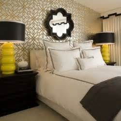 black and yellow bedroom haute color combo yellow black