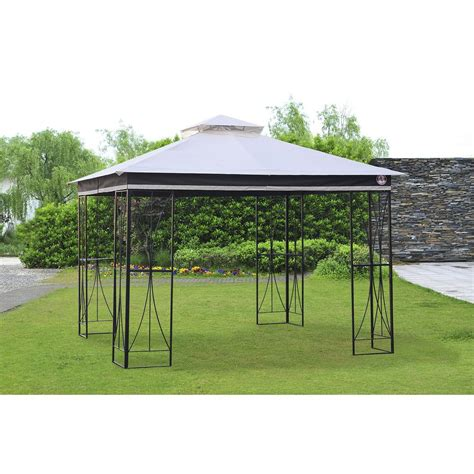 replacement l shades for outdoor ls replacement canopy set for l gz778pst a 10x10 elsworth gazebo