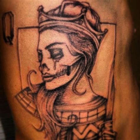 queen of hearts tattoo of my