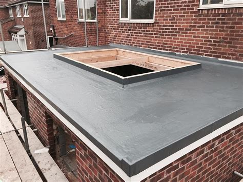 flat roof flat roofing grp installer fibreglass roofing jbs
