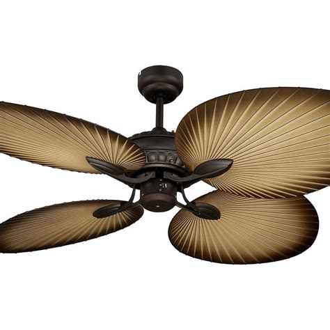 New Martec Oasis 52 Quot Palm Leaf Tropical Ceiling Fan Old Palm Ceiling Fan With Light