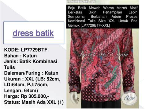 Nevada Size Xl Next Slide Motif Warna dress batik