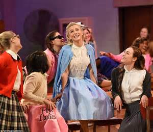 julianne hough as sandy julianne hough s sexy sandy leads grease live to five star