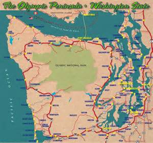 Washington Mountains Map by Olympic Mountains Map Galleryhip Com The Hippest