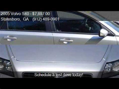 womack auto sales 2005 volvo s40 t5 4dr turbo sedan for sale in statesboro