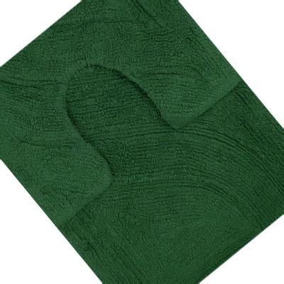 Forest Green Bath Rugs 100 Cotton Bath Mat Pedestal Mat Set Ebay