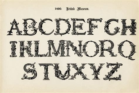 printable victorian alphabet free printable letters of the alphabet alphabet