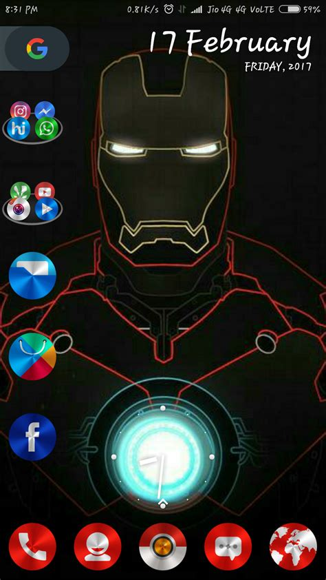 android home screen custom 10 beautiful custom android home screen layouts 6