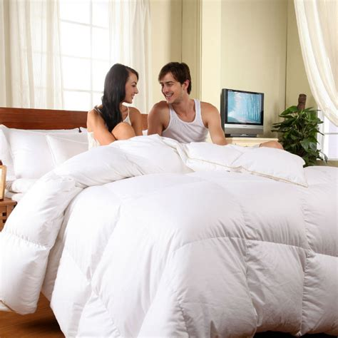 2016 top quality winter comforter 100 goose filler
