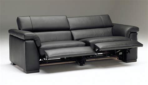 black fabric reclining sofa home the honoroak