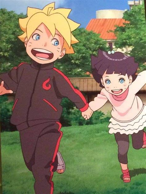boruto quora why do boruto himawari have whiskers if they doesn t