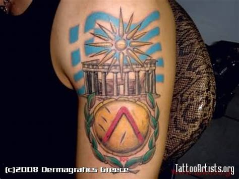 greek flag tattoo designs ideas and designs page 12