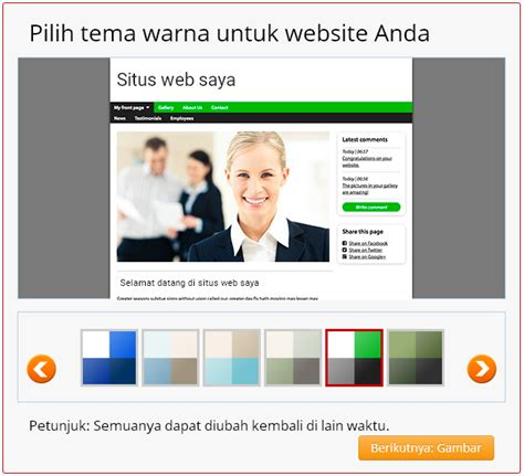 Membuat Website Simple | cara membuat website gratis cepat di simple site