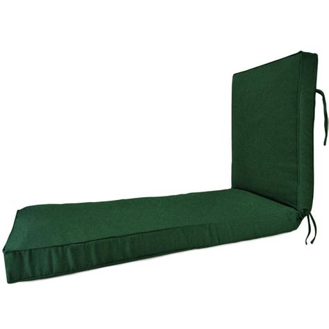 sunbrella chaise lounge cushion home decorators collection sunbrella dolce mango outdoor