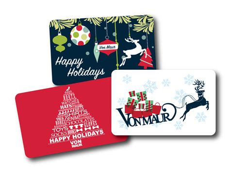 Holiday Gift Cards - von maur holiday gift cards nikki dawes